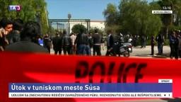 Útok v Tunisku si vyžiadal obete, zahynul aj zasahujúci policajt