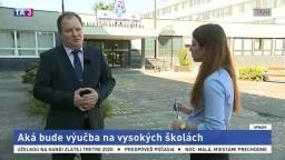 Prezident Slovenskej rektorskej konferencie R. Kropil o výučbe v čase pandémie
