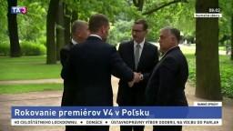 Premiéri V4 sa stretávajú, Babiš odmietol opozíciu z Bieloruska