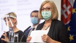 Kým príde vakcína, zásadné je dodržiavanie opatrení, tvrdí Krištúfková
