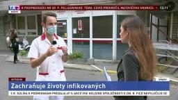 Infektológ P. Sabaka o liečbe nákazy na bratislavských Kramároch