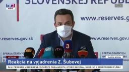 TB predsedu SŠHR J. Rudolfa k vyjadreniu Z. Šubovej