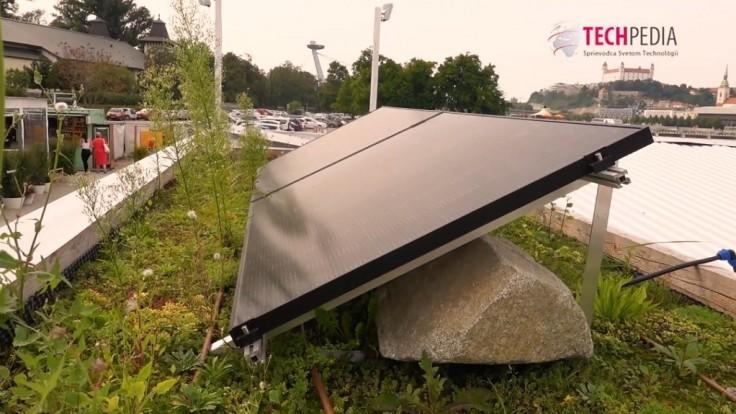 ZSE prináša ekologické riešenie aktívnych zelených striech s fotovoltikou