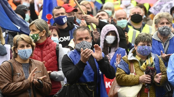 Odborári opäť pochodovali, cieľom kritiky bola vláda a Krajniak