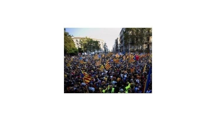 Za odtrhnutie Katalánska demonštrovalo 1,5 milióna ľudí