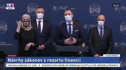TB E. Hegera a D. Klučkovej k zákonom rezortu financií