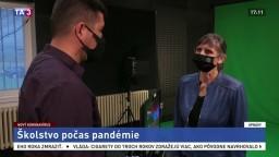 Dekanka A. Čalkovská o situácii v školstve počas pandémie