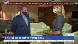 Riaditeľ SND P. Kováč o opatreniach na hromadných podujatiach