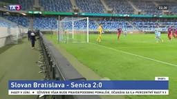 Slovan zvládol dohrávku. DAC v pohári nezaváhal, Žilina mala na mále