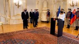 Máme 12 nových sudcov, vymenovala ich prezidentka Čaputová