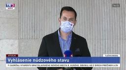 TB J. Šeligu v reakcii na R. Fica o núdzovom stave