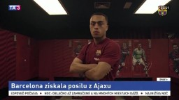Barcelona má novú posilu z Ajaxu za 26 miliónov eur