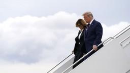 Trump má koronavírus. Pozitívne ho testovali aj s manželkou