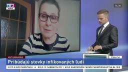 ŠTÚDIO TA3: H. Hudečková z MZ SR o protipandemických opatreniach