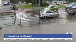 Križovatku zaplavuje aj po nedávnej oprave, ľudia žiadajú nápravu