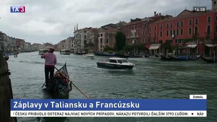 Záplavy v Taliansku a Francúzsku si vyžiadali mŕtvych i nezvestných