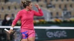 Halepová sa hladko prebojovala do osemfinále Roland Garros