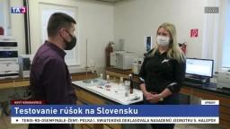 D. Rástočná Illová z VÚTCH o testovaní rúšok na Slovensku
