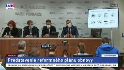 TB ministerstva financií o miliardovom pláne obnovy Slovenska