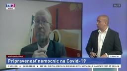 ŠTÚDIO TA3: Infektológ P. Jarčuška o pripravenosti nemocníc