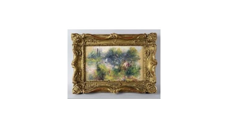 Američanka si kúpila na blšom trhu za 7 dolárov obraz od Renoira