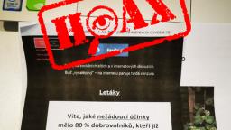 Polícia upozorňuje na listy v schránkach šíriace hoaxy o nákaze