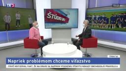 ŠTÚDIO TA3: L. Molnár chce napriek problémom víťazstvo