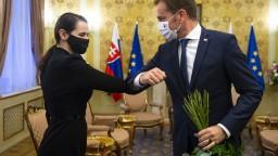 Prezidentka i premiér prijali Cichanovskú, SR povolala diplomata