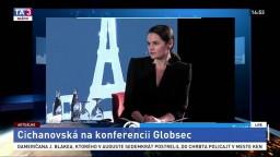 Vystúpenie S. Cichanovskej na konferencii Globsec