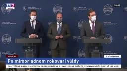 TB predstaviteľov vlády aj o nasadení Ozbrojených síl do boja s pandémiou
