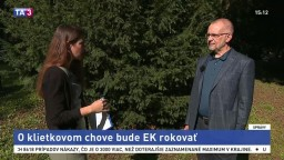 L. Miko zo Zastúpenia EK na Slovensku o klietkovom chove