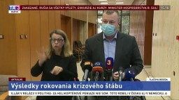 Vyhlásenie ministra M. Krajniaka po rokovaní krízového štábu