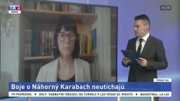 ŠTÚDIO TA3: Analytička T. Soušková o bojoch v Náhornom Karabachu
