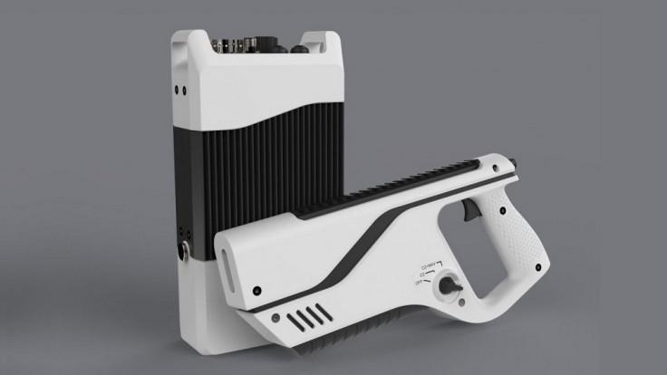 Rušička dronov v podobe pištole je jednou z najľahších a najmenších