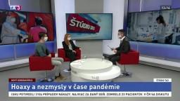ŠTÚDIO TA3: V. Čavojová a J. Šrol o hoaxoch a nezmysloch v čase pandémie
