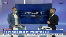ŠTÚDIO TA3: Právnik D. Lenčéš o význame zákazu zhromažďovania sa