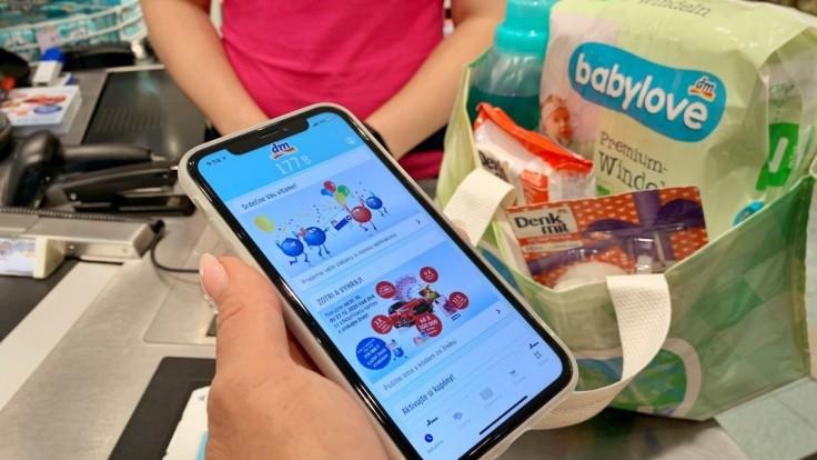 dm spustila novú mobilnú aplikáciu  s priamym prístupom do zákazníckeho konta