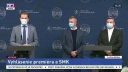TB premiéra I. Matoviča a predstaviteľov SMK o pandémii a možnostiach podpory