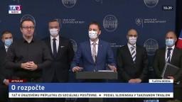 TB E. Hegera a ďalších predstaviteľov MF SR o novom rozpočte
