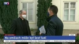 Arcibiskup S. Zvolenský o nových opatreniach na omšiach