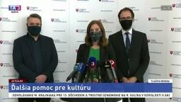 TB ministerky kultúry N. Milanovej o pomoci pre kultúru
