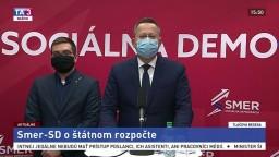 TB poslanca NR SR L. Kamenického o štátnom rozpočte