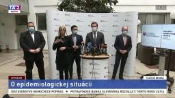 TB ministra M. Krajčího o aktuálnej epidemiologickej situácii
