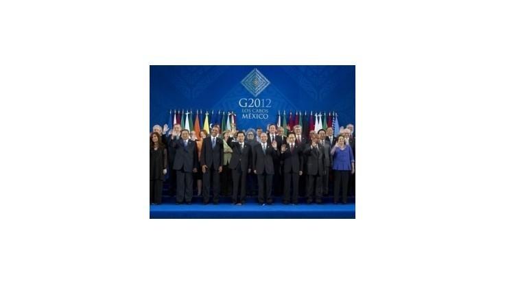 Hospodársky rast skupiny G20 sa opäť spomalil