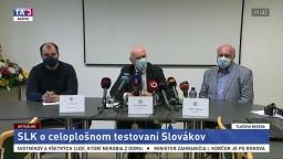 TB predstaviteľov Slovenskej lekárskej komory o celoplošnom testovaní