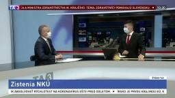 ŠTÚDIO TA3: Podpredseda NKÚ Ľ. Andrassy o pripravenosti Slovenska na pandémiu