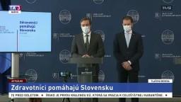 TB I. Matoviča a M. Krajčího o zapojení zdravotníkov do testovania