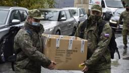 Testovanie štartuje na severe a východe, vojaci ho už pripravujú