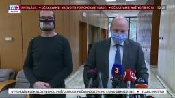 Brífing ministra J. Naďa o zhoršujúcej sa situácii v nemocniciach
