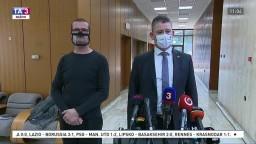 Brífing ministra R. Mikulca o kontrolách na hraniciach